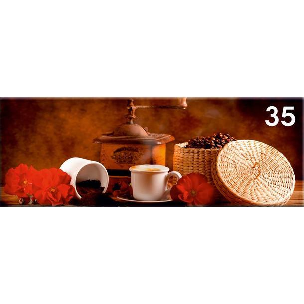 Obraz na plátně PANORAMA CAFE -  vzor 35