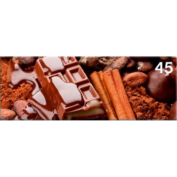 Obraz na plátně PANORAMA CHOCOLATE -  vzor 45