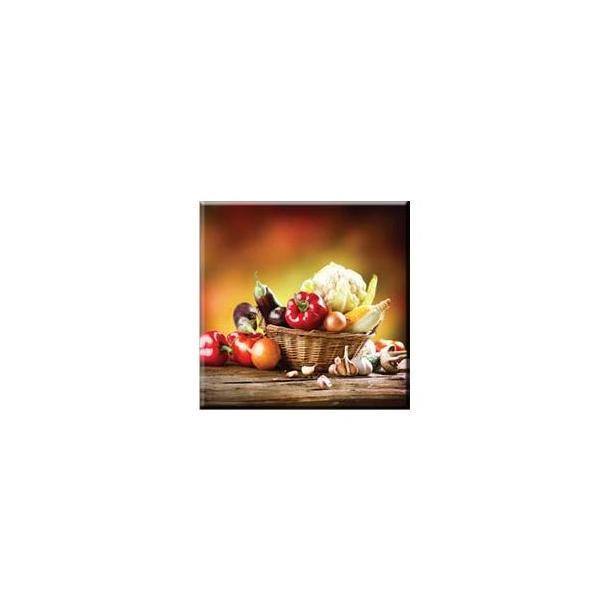 Obraz na plátně 30x30cm VEGETABLES - vzor 26