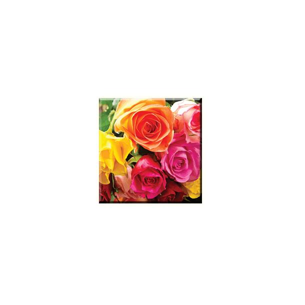 Obraz na plátně 30x30cm FLOWER - vzor 36