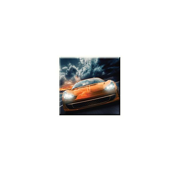 Obraz na plátně 30x30cm CAR - vzor 45