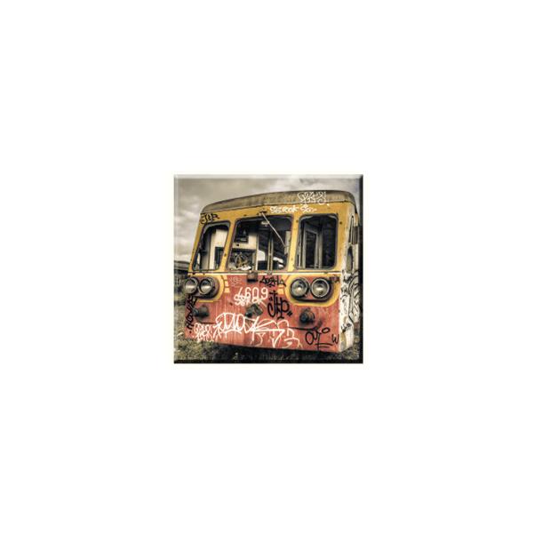 Obraz na plátně 30x30cm OLD TRAIN - vzor 50