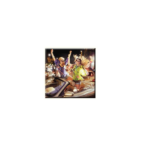 Obraz na plátně 30x30cm GIRLS - vzor 56