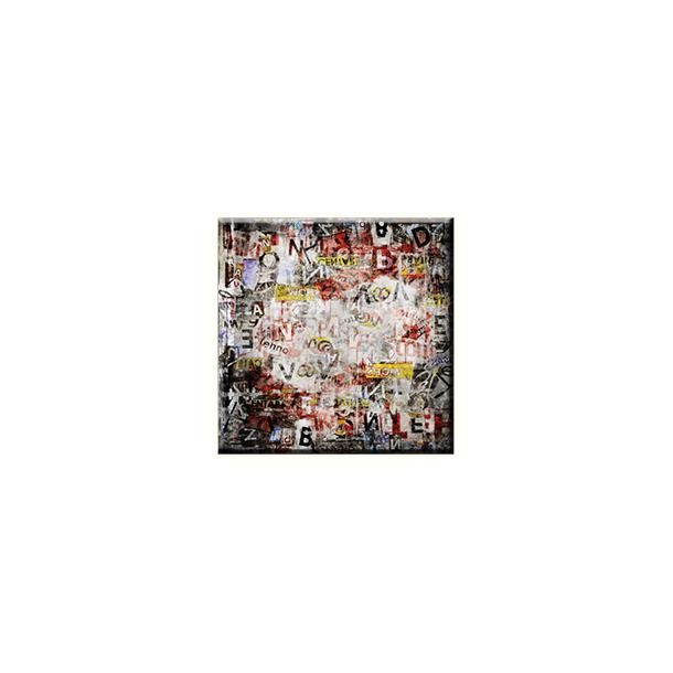 Obraz na plátně 30x30cm ABSTRACT - vzor 62