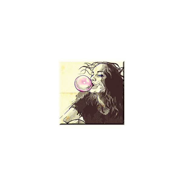 Obraz na plátně 30x30cm BUBBLE - vzor 63