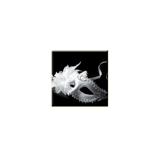 Obraz na plátně 30x30cm MASK - vzor 70
