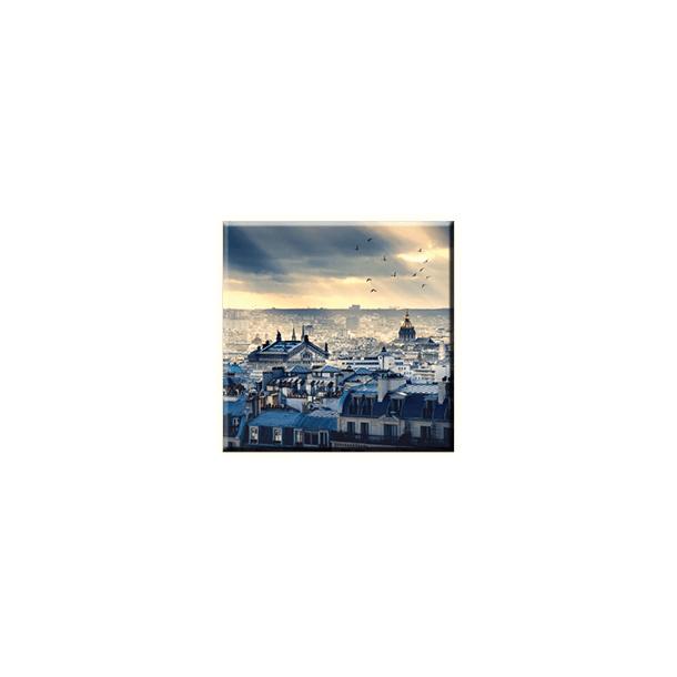 Obraz na plátně 30x30cm TOWN - vzor 79