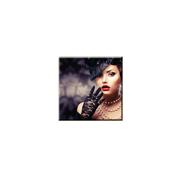 Obraz na plátně 30x30cm WOMAN - vzor 95
