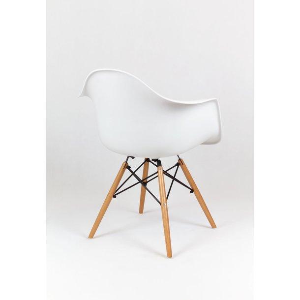 Designové křeslo TORINO - Bílé 2