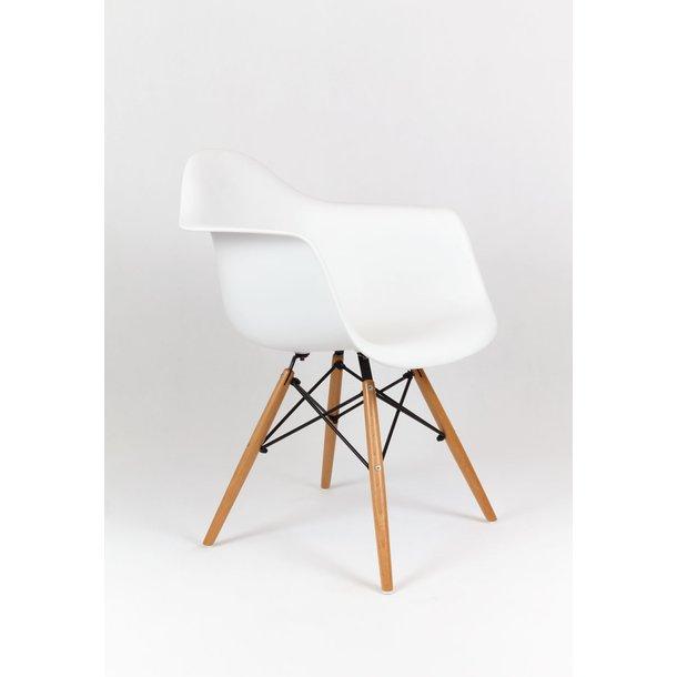 Designové křeslo TORINO - Bílé 3