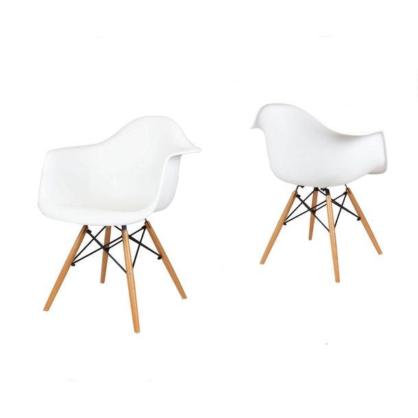 Designové křeslo TORINO - Bílé 4