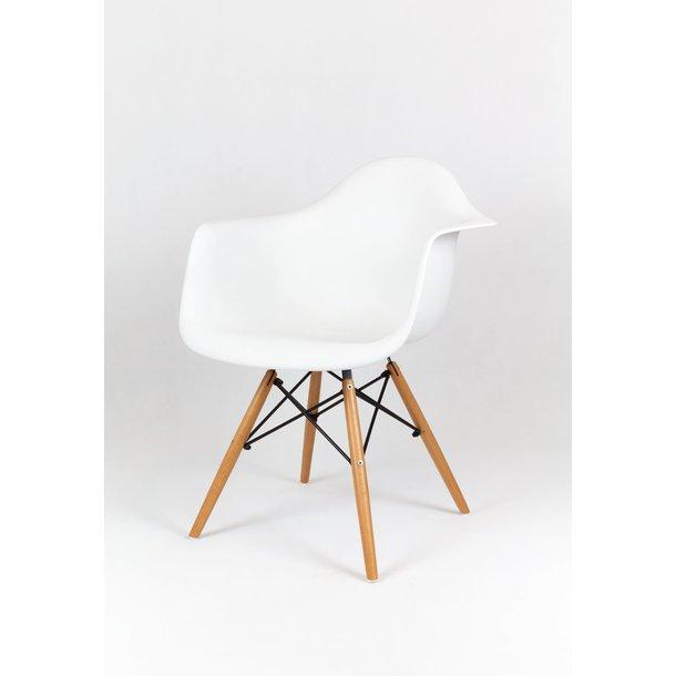 Designové křeslo TORINO - Bílé