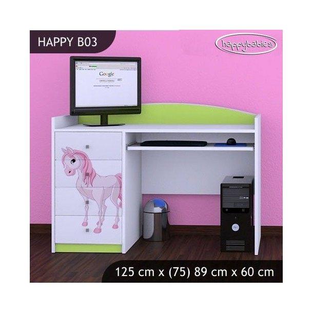 Dětský psací stůl PRINCEZNA A KONÍK - TYP 3