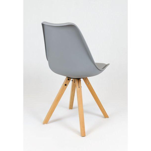 Designová židle NEAPOL - šedá - TYP A