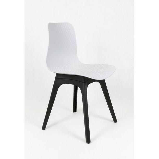 Designová židle PALERMO - bílá - TYP C
