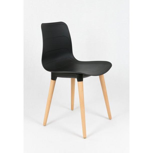 Designová židle PALERMO - černá - TYP D