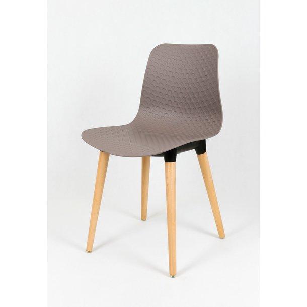 Designová židle PALERMO - hnědá - TYP B