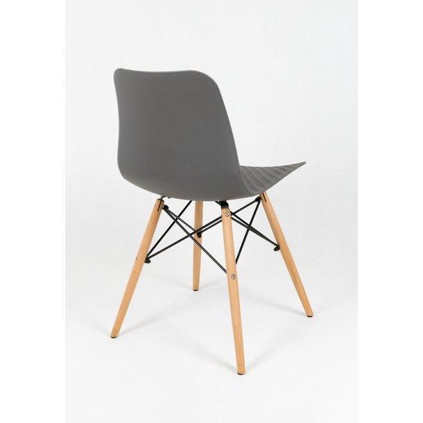Designová židle PALERMO - šedá - TYP A