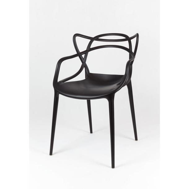 Designová židle ROMA - černá