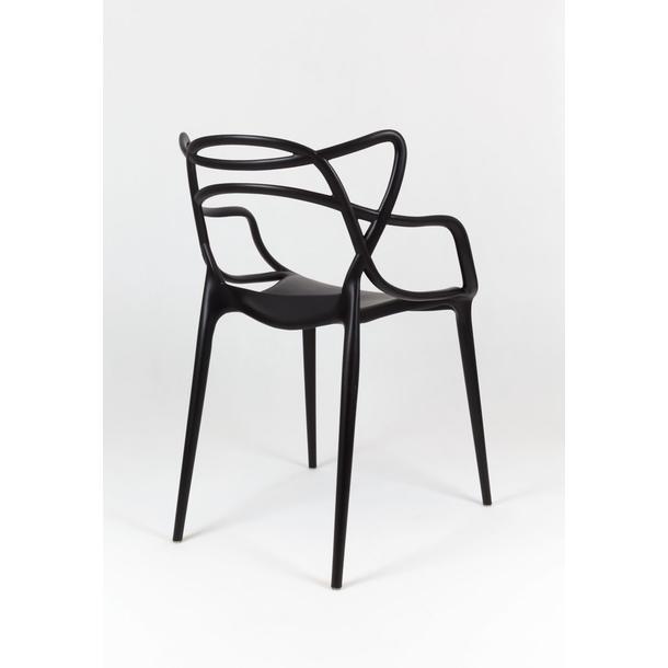 Designová židle ROMA - černá 2