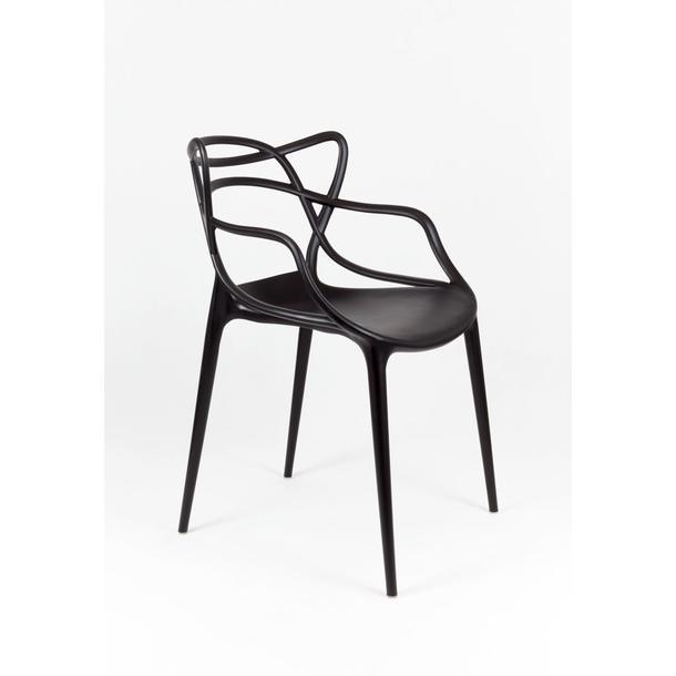 Designová židle ROMA - černá 3