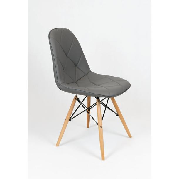 Designová židle VENICE - tmavě šedá - TYP A