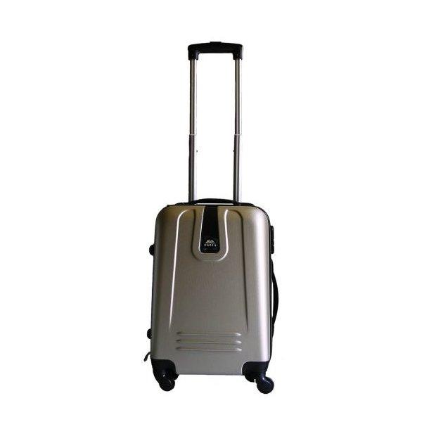 Moderní cestovní kufr CHAMPAGNE - zlatý