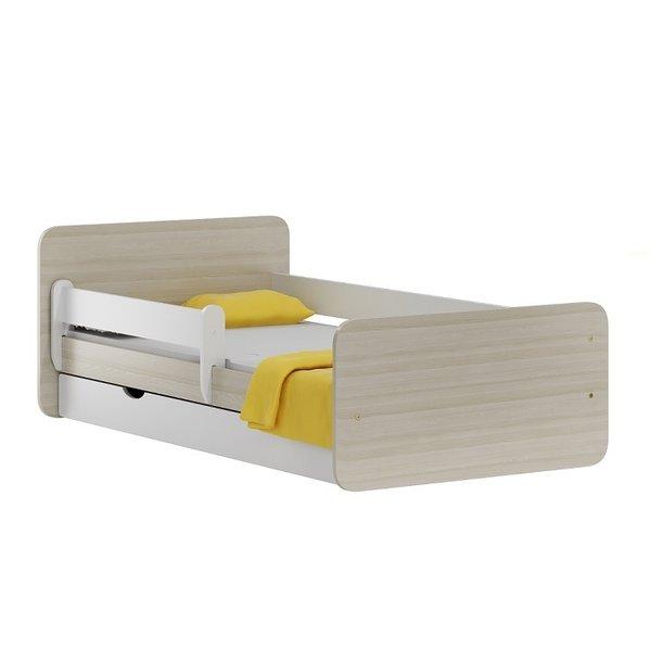 Dětská postel se šuplíkem NORDI 200x90 cm + matrace