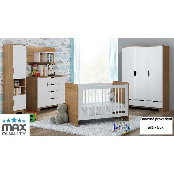 Dětský pokojíček NORDI - provedení - buk