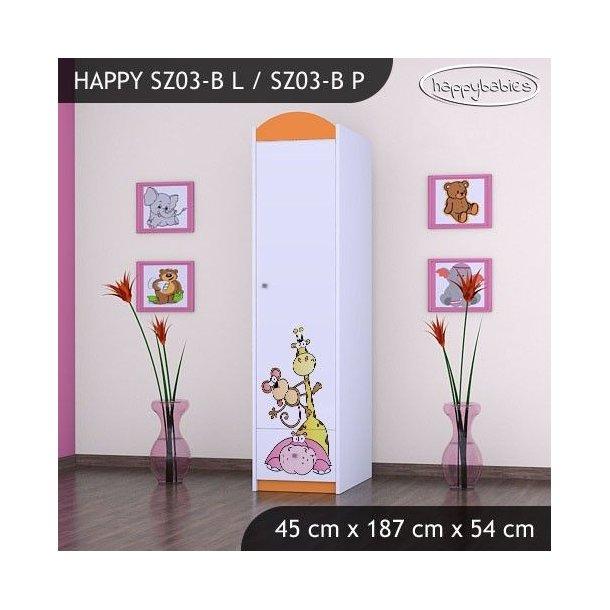 Dětská skříň SAFARI - TYP 3B