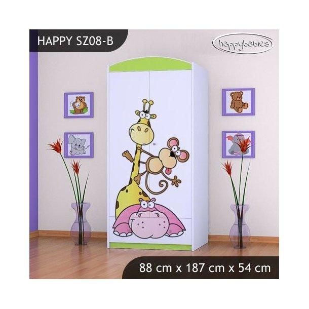Dětská skříň SAFARI - TYP 8B