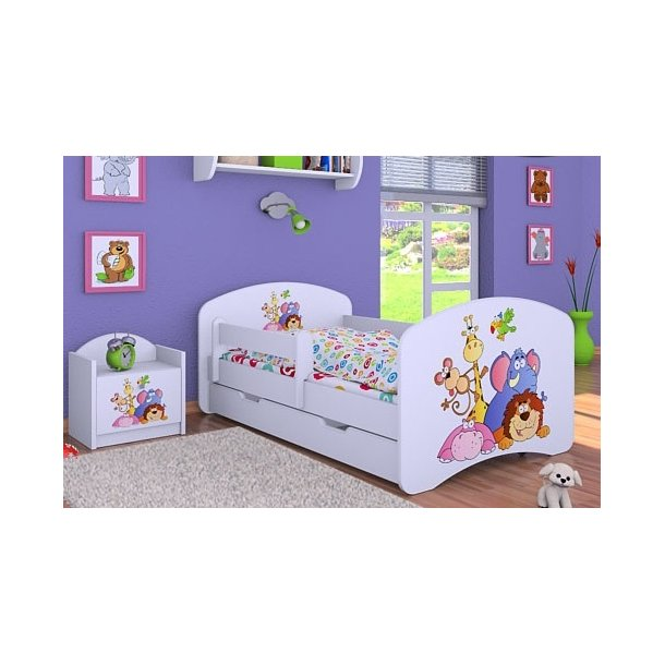 Dětská postel se šuplíkem 180x90cm SAFARI