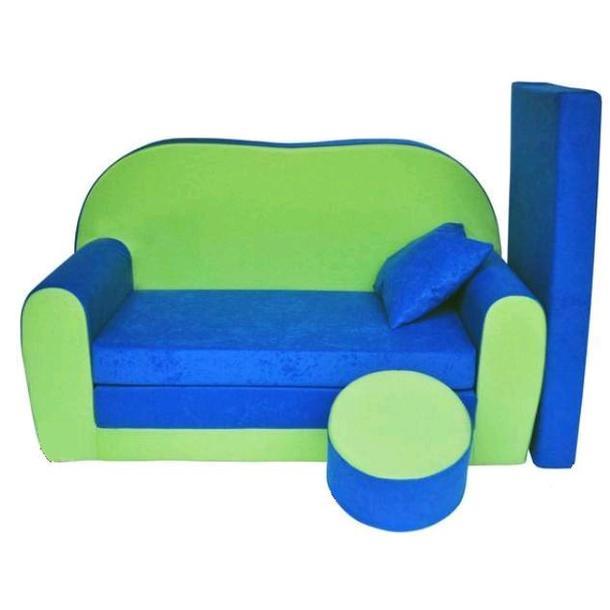 Dětská pohovka Modrozelená - Dětské pohovky