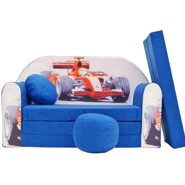 Dětská pohovka Modrá formule - Dětské pohovky