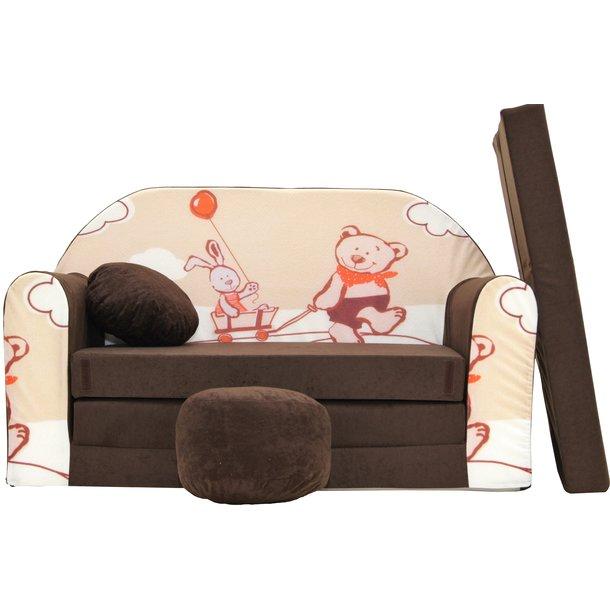 Dětská pohovka Brown bear - Dětské pohovky