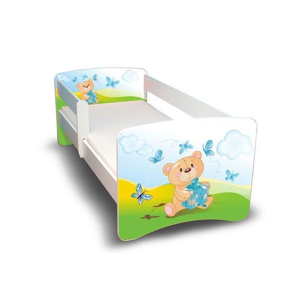 Dětská postel - MEDVÍDEK S DÁREČKEM II