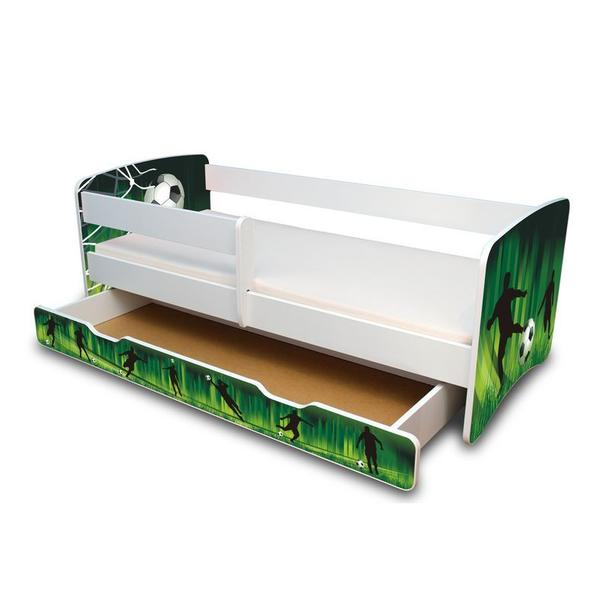 Dětská postel se šuplíkem 160x70 cm - FOTBAL II.