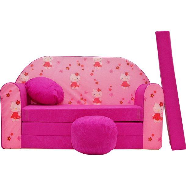 Dětská pohovka Růžová hallo kitty - Dětské pohovky