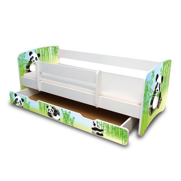Dětská postel se šuplíkem 160x70 cm - PANDA II.