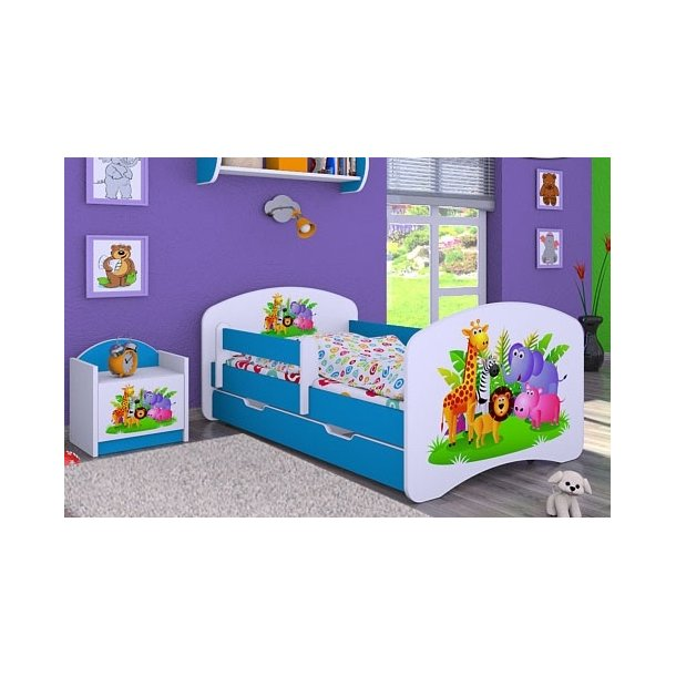 Dětská postel se šuplíkem 180x90cm MADAGASKAR