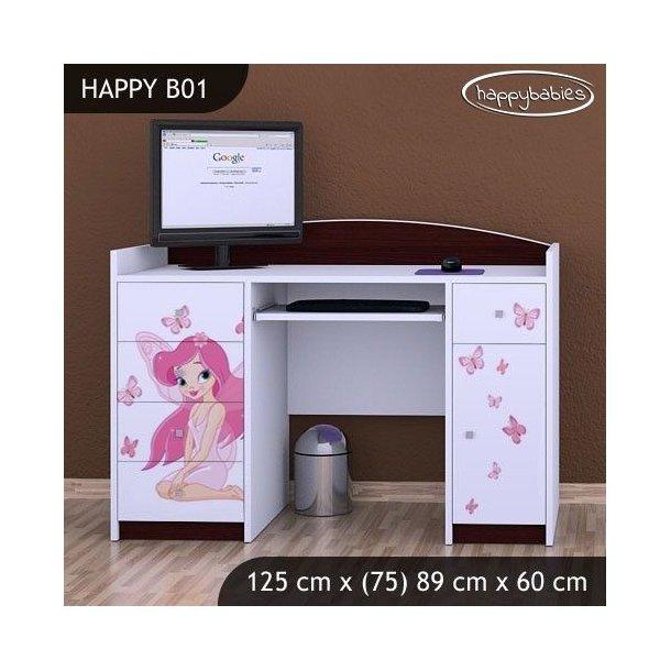 Dětský psací stůl VÍLA A MOTÝLCI - TYP 1