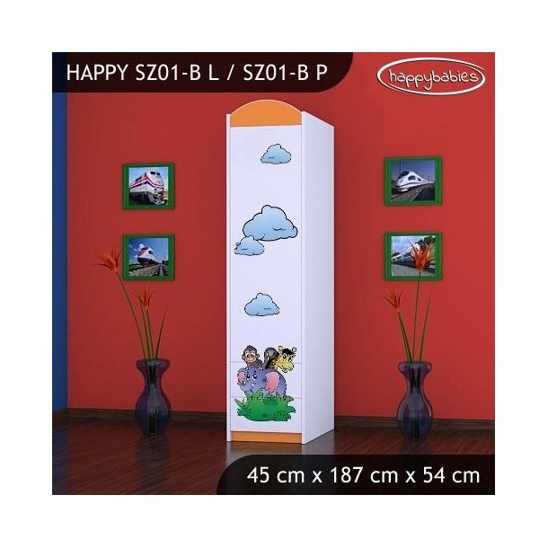 Dětská skříň - TYP 1B
