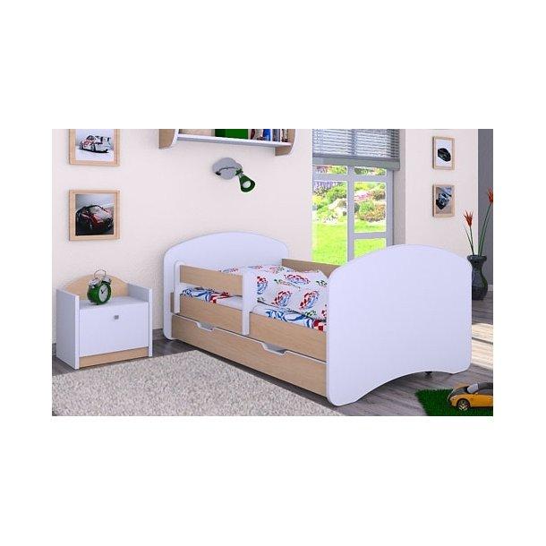 Dětská postel se šuplíkem 160x80cm HAPPY bez motivu