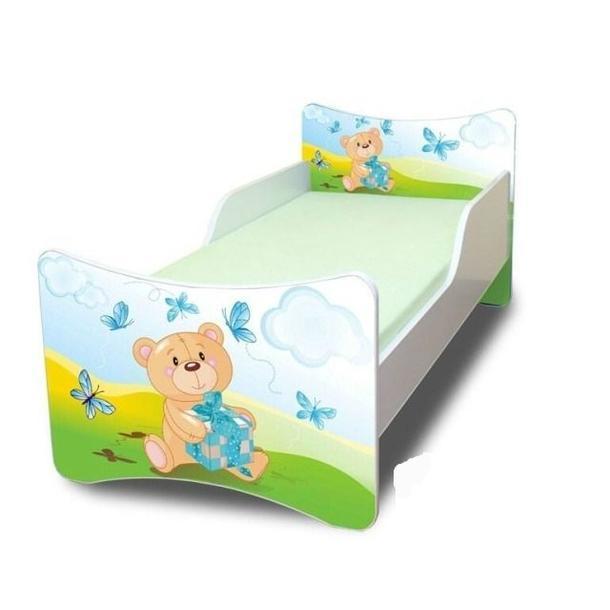Dětská postel - Míša a dáreček