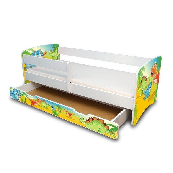 Dětská postel se šuplíkem - Dino II.