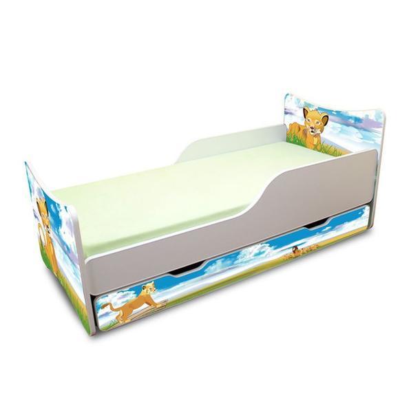 Dětská postel se šuplíkem