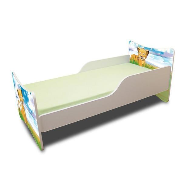 Dětská postel 140x70 cm - LVÍČEK