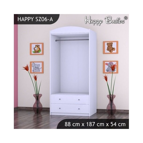 Dětská skříň - TYP 6A