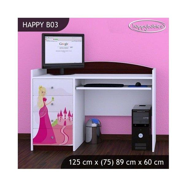 Dětský psací stůl PRINCEZNA A HRAD - TYP 3