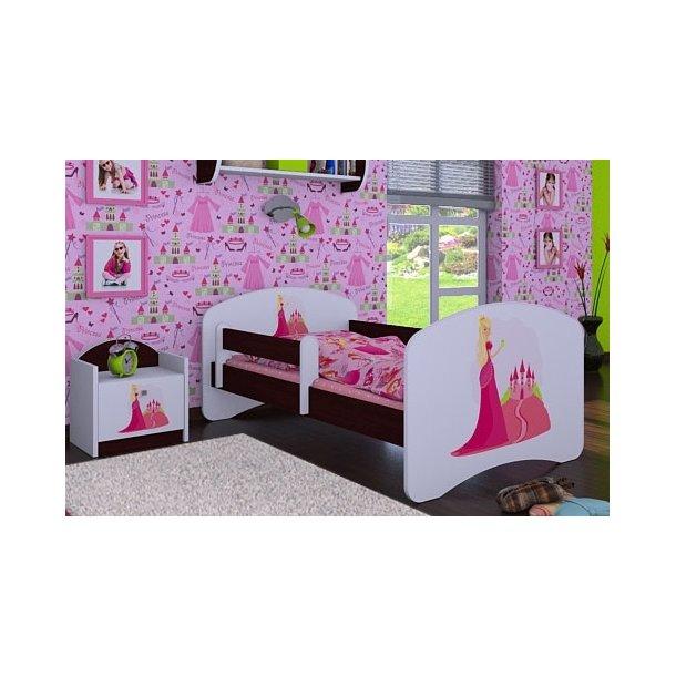 Dětská postel bez šuplíku 180x90cm PRINCEZNA A HRAD